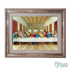 Quadro - Santa Ceia - Modelo 1 - 52 cm x 42 cm