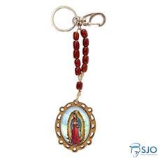 Chaveiro de Madeira Nossa Senhora de Guadalupe
