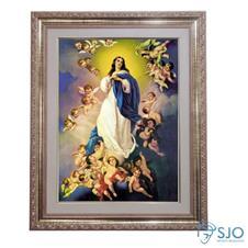Quadro - Nossa Senhora da Conceição - 52 cm x 42 cm