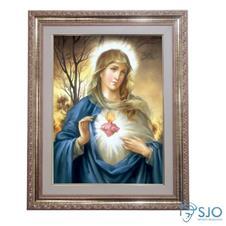Quadro - Sagrado Cora��o de Maria - Modelo 1 - 52 cm x 42 cm