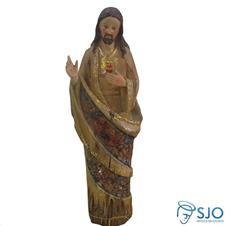 Imagem de resina Sagrado Cora��o de Jesus - 30 cm