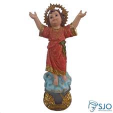 Imagem de resina Divino Menino Jesus - 40 cm