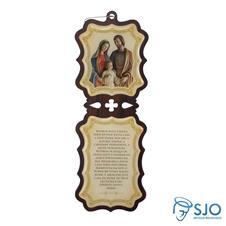 Adorno Resinado da Sagrada Família