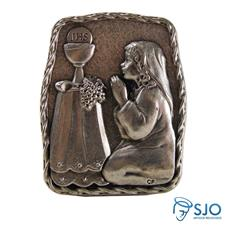 Porta Retrato de Mesa Eucaristia - Menina