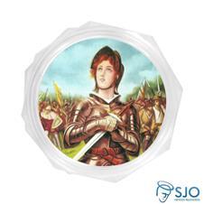 Embalagem Personalizada de Santa Joana D'Arc