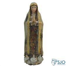 Imagem de resina Nossa Senhora de F�tima - 30 cm
