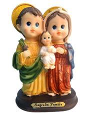 Imagem Estilizada Sagrada Fam�lia - 10 cm