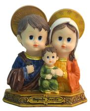 Imagem Infantil da Sagrada Família - 15 cm