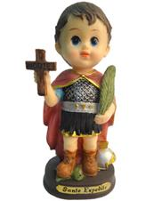 Imagem Infantil do Santo Expedito - 15 cm