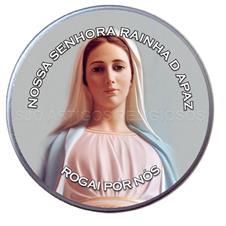 Latinha Personalizada de Nossa Senhora Rainha da Paz