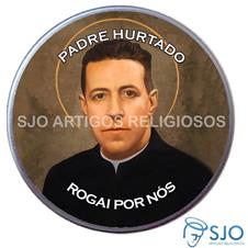 Latinha Personalizada do Padre Hurtado