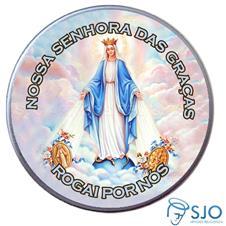 Latinha Personalizada de Nossa Senhora das Graças - Mod. 2