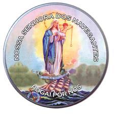 Latinha Personalizada de Nossa Senhora dos Navegantes