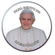 Latinha Personalizada do Papa Bento XVI