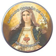 Latinha Personalizada do Sagrado Cora��o de Maria - Modelo 02