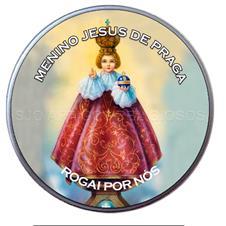 Latinha Personalizada do Menino Jesus de Praga