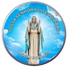 Latinha Personalizada de Nossa Senhora do Equilíbrio