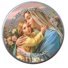 Latinha Personalizada de Nossa Senhora do Bom Parto