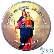 Latinha Personalizada de Nossa Senhora Auxiliadora