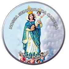 Latinha Personalizada de Nossa Senhora da Cabeça