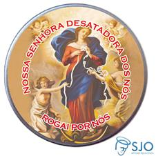 Latinha Personalizada de Nossa Senhora Desatadora dos Nós