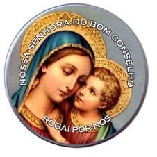 Latinha Personalizada de Nossa Senhora do Bom Conselho