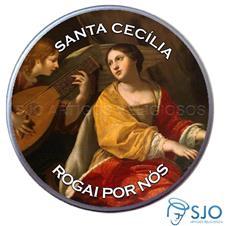 Latinha Personalizada de Santa Cec�lia