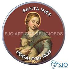 Latinha Personalizada de Santa Inês