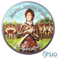 Latinha Personalizada de Santa Joana D'Arc