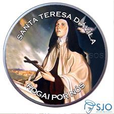 Latinha Personalizada de Santa Teresa D'Ávila