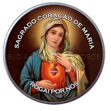 Latinha Personalizada do Sagrado Coração de Maria