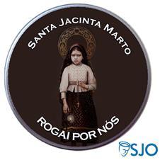 Latinha Personalizada Santa Jacinta Marto