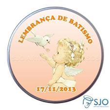 Latinhas Personalizadas - Batismo - Mod. 07