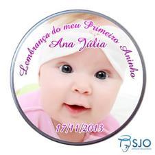 Latinha Personalizada de Aniversário do Meu Primeiro Aninho - Menina