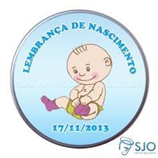 Latinha de nascimento - Mod. 8 - Masc.