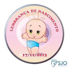 Latinha de nascimento - Mod.4 - Fem.