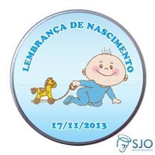 Latinha de nascimento  - Mod. 1 - Masc.