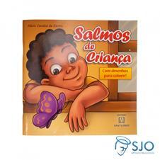 SALMOS DE CRIAN�A - Livro de colorir