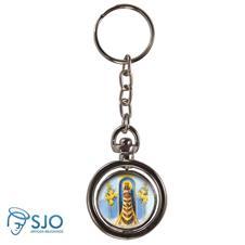Chaveiro Redondo Girat�rio - Nossa Senhora do Loreto