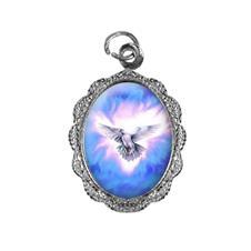 Medalha de Alumínio - Divino Espírito Santo Níquel