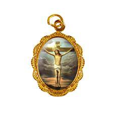 Medalha de Alumínio - Jesus Crucificado