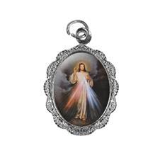 Medalha de alumínio - Jesus Misericordioso - Mod. 2