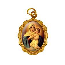Medalha de alumínio - Mãe Rainha