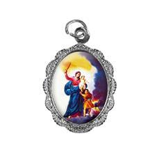 Medalha de alumínio - Nossa Senhora da Defesa