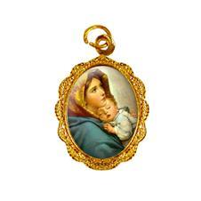 Medalha de alumínio - Nossa Senhora da Divina Providência - Mod .2