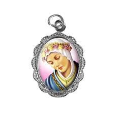 Medalha de alumínio - Nossa Senhora da Salette - Mod. 2