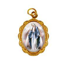 Medalha de alumínio - Nossa Senhora das Graças - Mod. 1
