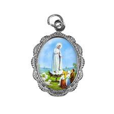 Medalha de alumínio - Nossa Senhora de Fátima - Mod. 1