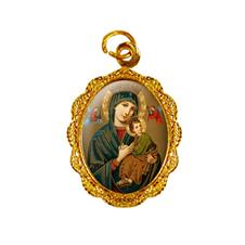 Medalha de alumínio - Nossa Senhora do Perpétuo Socorro - Mod. 2
