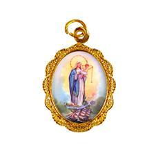 Medalha de alumínio - Nossa Senhora dos Navegantes
